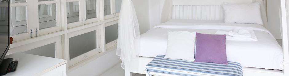 ห้องพัก - บ้านกางมุ้ง